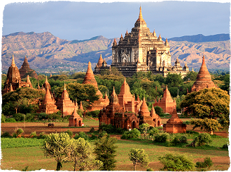 Ancient Burma Capitals  on Anawrahta Cruise