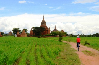 Burma Biking on Unique Route