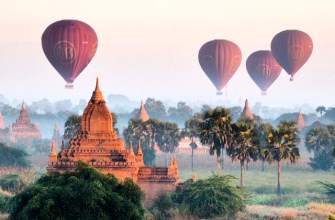 Myanmar Highlights with Balloon