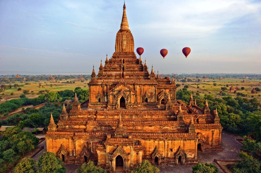 Guide For Visiting Temples In Myanmar
